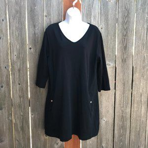 New York & Co. XL Black Dress